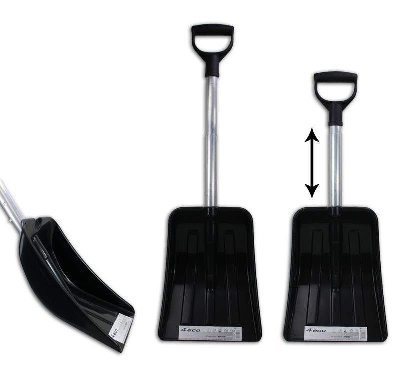 Snow Shovel<br>extendable ca 83cm