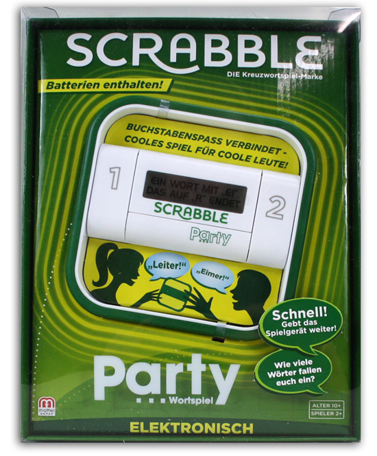Mattel Scrabble Párt