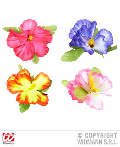 Barrette z<br> hibiskusa 4<br>Assorted - ca