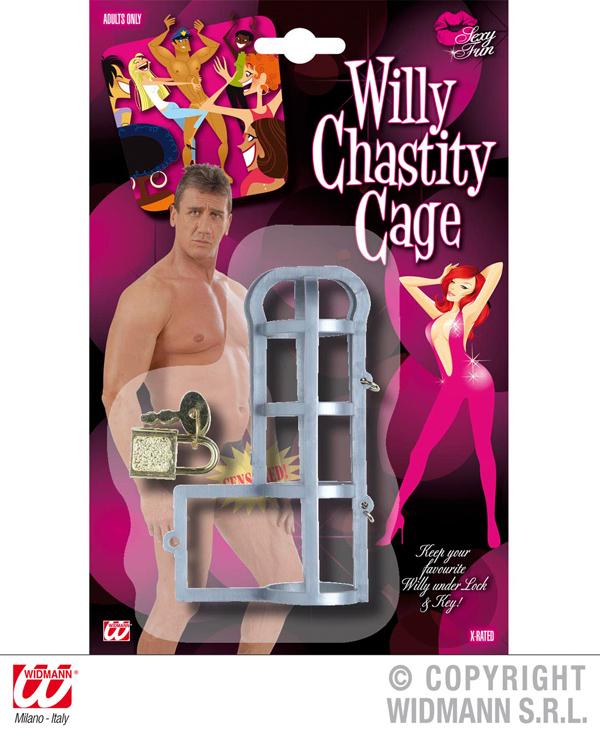 Keuschheitskäfig<br>für ,Willy, Penis