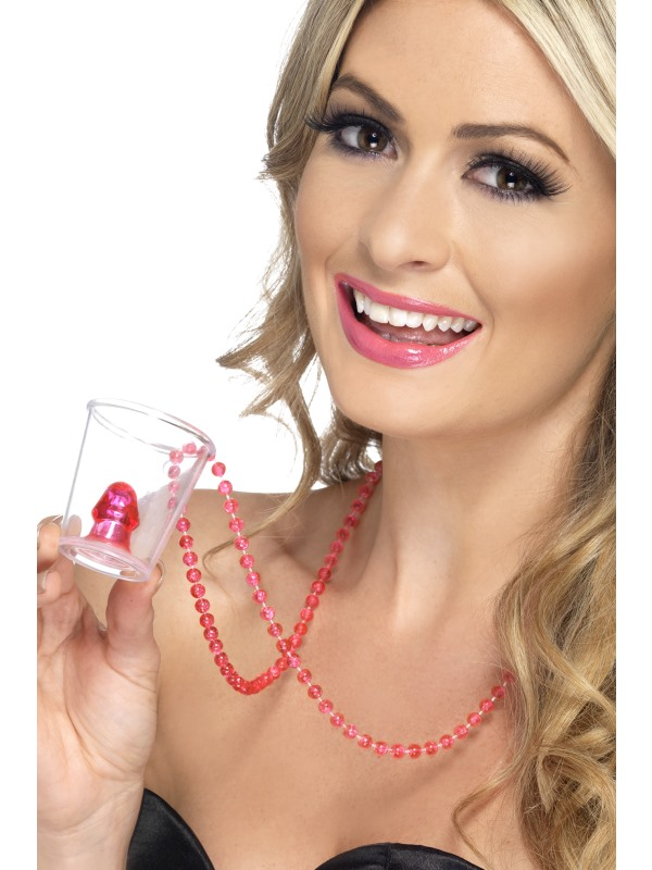 Shot Glass Necklace on