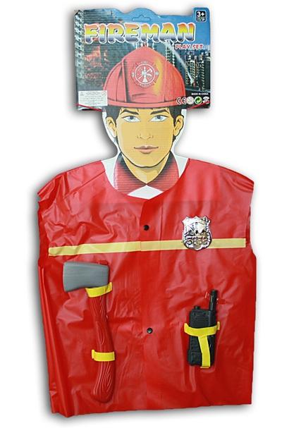 Kostüm -<br> Feuerwehrmann<br> Einheitsgröße für ...
