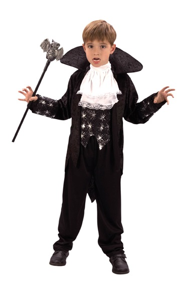 Costume - Child<br> Costume deluxe<br>vampire approx 7-9