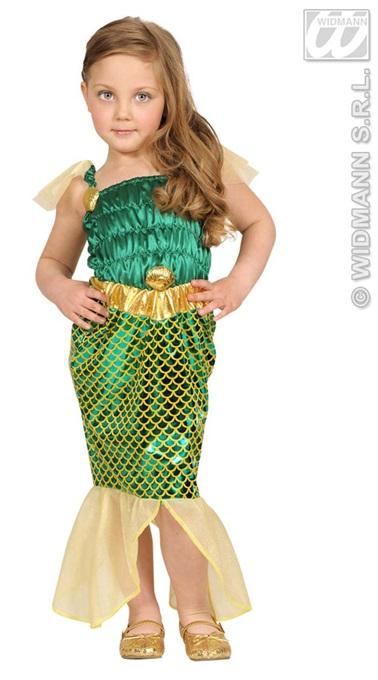 Kostüm -<br> Kinderkostüm<br> Meerjungfrau ...