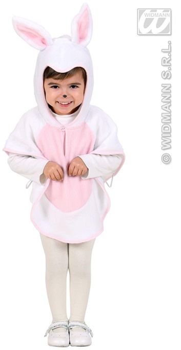 Costume - Cape<br> plush bunny for<br>children (height ca