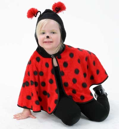 Costume - Cape<br>Ladybug size 98