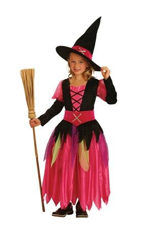 Costume - Child<br> Costume 3Pcs<br> pretty witch 7-9 ...