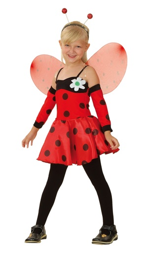 Costume - Ladybug<br> for children 4-6<br>years