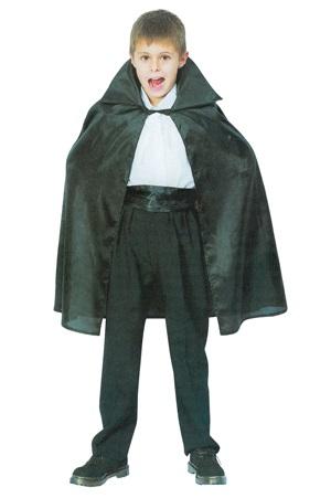 Cape cloak vampire<br> black ca 75 cm 7-9<br>years