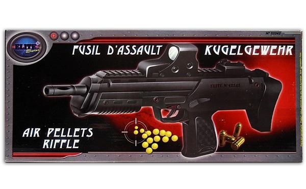 Kugelgewehr max<br>0,5J - ca 38cm