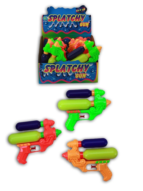 Water gun 3<br> assorted - about<br>18.5 cm