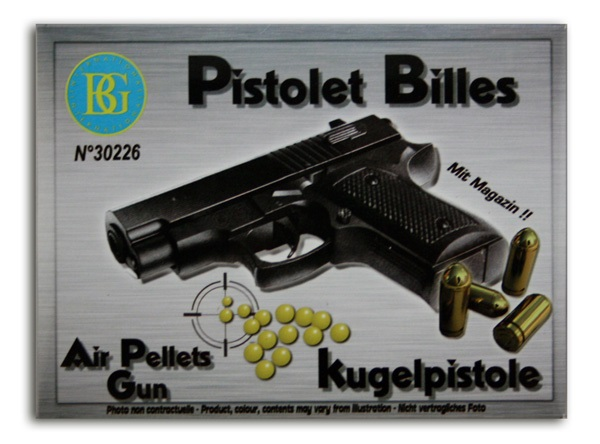 Kugelpistole max<br>0,08J ca 13 cm