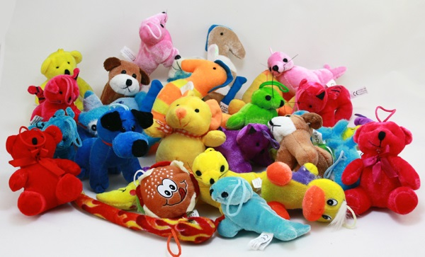 Article plush throw sort-mind 150 pcs