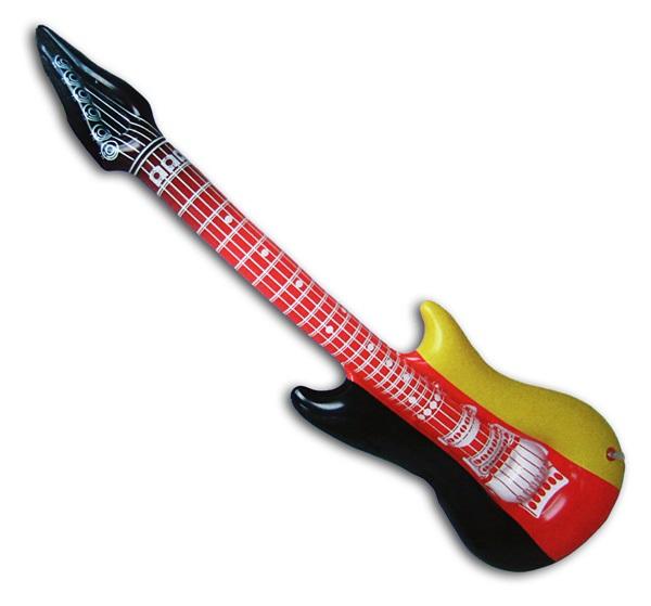 Tassen Groothandel Duitsland : Opblaasbare gitaar duitsland kleuren ca cm uit