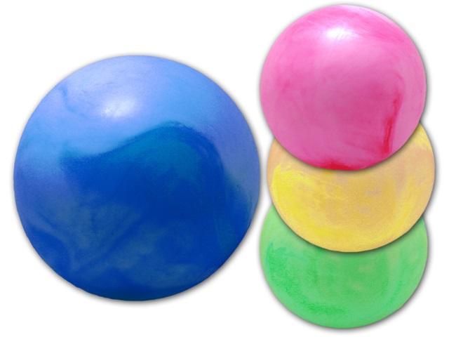 Ball marmoriert im<br>Netz  ca 28 cm