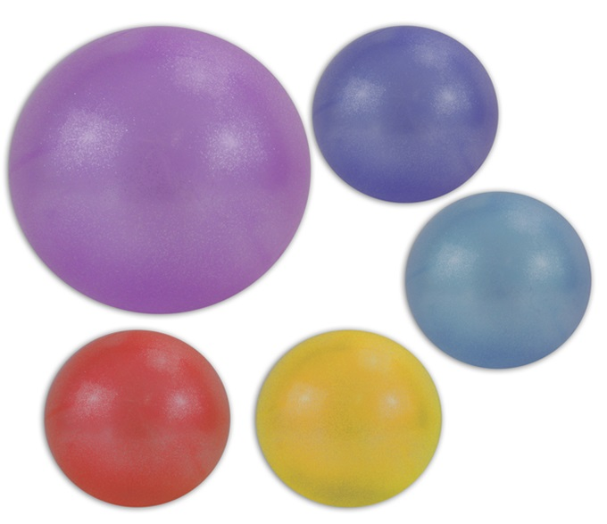Inflating ball<br> assorted colors<br>approx 33 cm