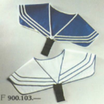 Sailor collar, blue